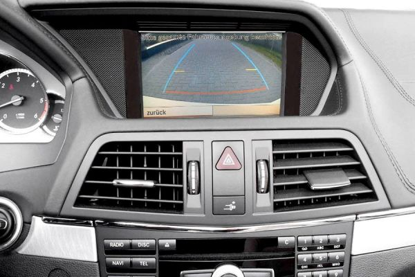 Komplett-Set Rückfahrkamera für Mercedes GLK X204 NTG 4 bis 22.04.2009
