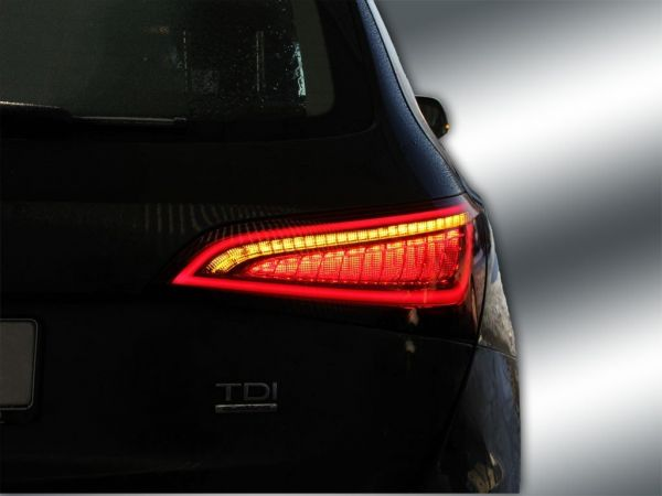 Komplett-Set Facelift LED-Heckleuchten für Audi Q5 LED > auf > LED facelift