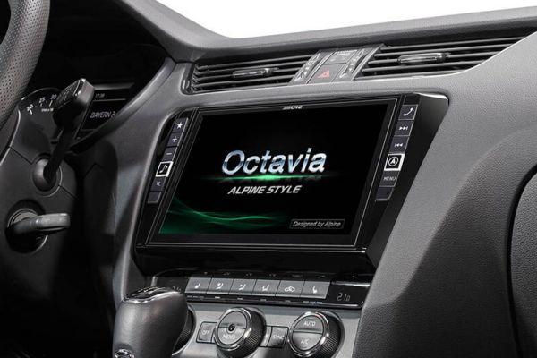 41345 - Navigationssystem Alpine Style Infotainment für Skoda Octavia 3 (5E)