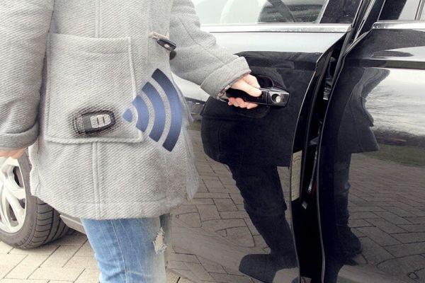 41455 - Komfortschlüssel Kessy für Audi A4 8W