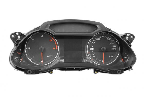 40719 - Tacho Kombiinstrument mit FIS Farbdisplay für Audi A4 8K, A5 8T, Q5 8R ohne ACC