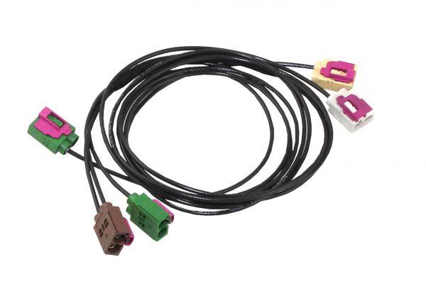 37794 - Kabelsatz TV-Antennenmodule für VW Touareg 7P - RNS 850