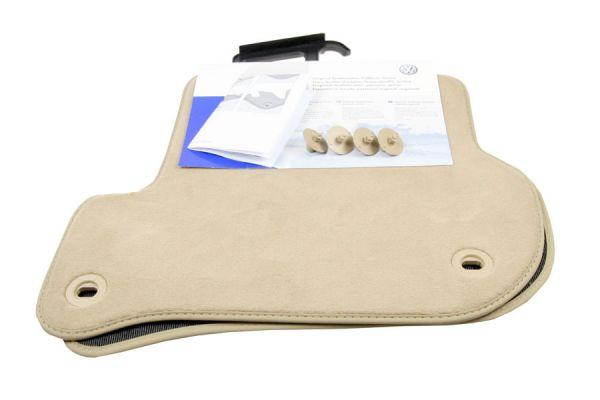 1K0061276PRYL - Original Textil-Fußmatten - hinten für VW Golf 5