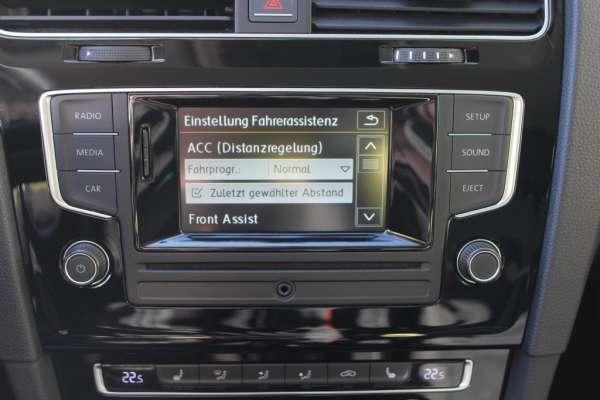 Automatische Distanzregelung (ACC) für VW Golf 7 VII bis 160 km/h