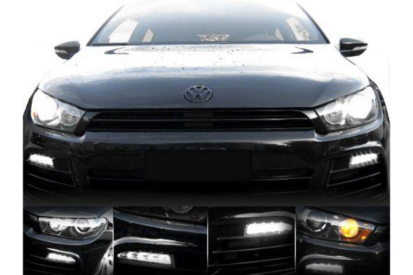 38121 - LED-Tagfahrleuchten (TFL) für VW Scirocco 1K