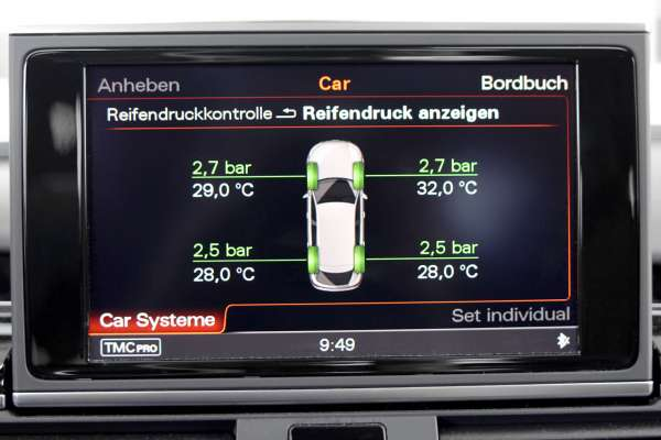 34630 - Reifendruck-Kontrollsystem (RDK) für Audi A8 4H