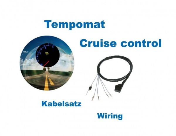 40315 - Kabelsatz GRA (Tempomat) für Audi A3 8L SDI / TDI - Diesel