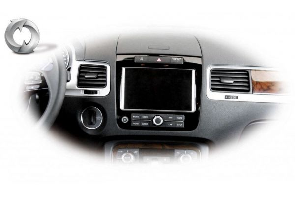 Retrofit Radio RCD 510, 550 to Navigation RNS 850 for VW Touareg 7P