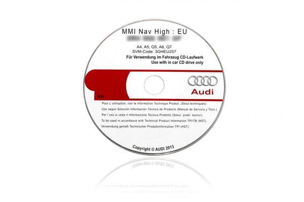 Original MMI Update for AUDI A4, A5, A6, Q5, Q7 to 0187