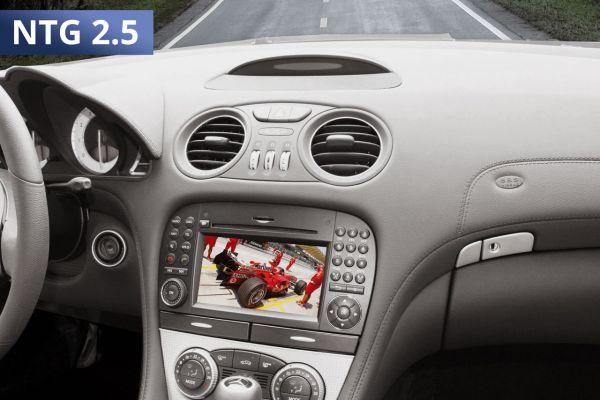 36563 - TV-Freischaltung Mercedes-Benz Comand APS NTG 2.5