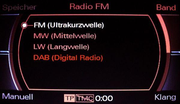 37095 - Kabelsatz digitales Radio DAB Audi Q7 4L MMI 2G