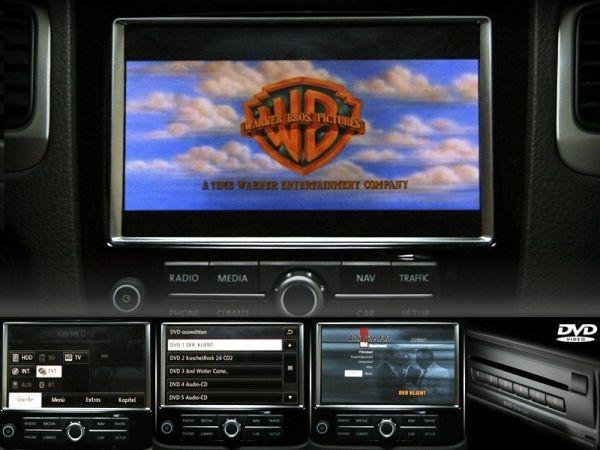 Komplett-Set DVD-Wechsler für VW Touareg 7P Nein