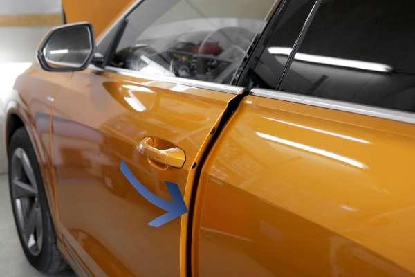 43810 - Komplettset Softclose Komfortschließen Zuziehhilfe Audi Q8 4M Fahrertür