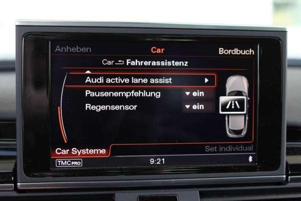 40210 - Active Lane Assist (Spurhalteassistent) inkl. Verkehrszeichenerkennung VZE für Audi A6, A7 4G ohne ACC