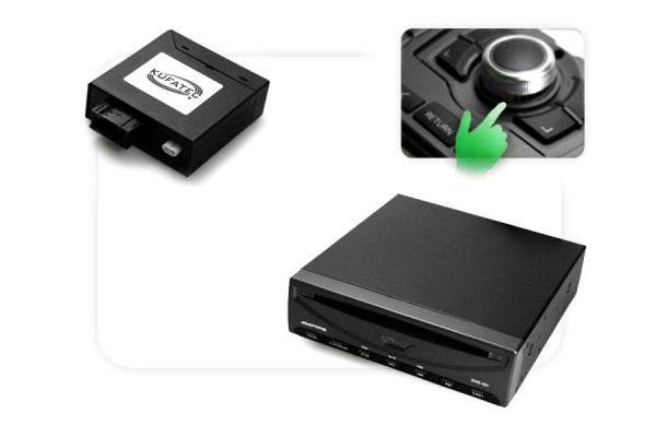 DVD Player USB + Multimedia Adapter - with OEM Control