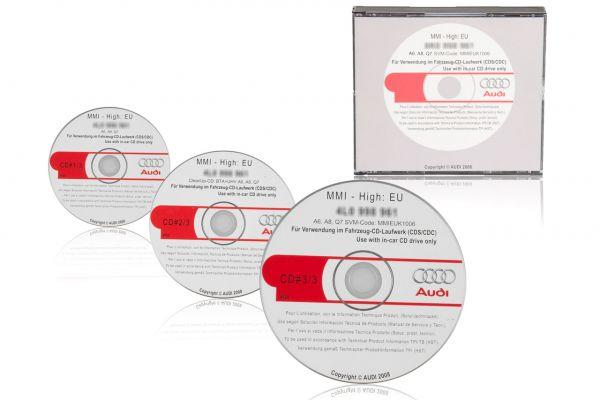 39469 - Original MMI Update für AUDI A6 4F, A8 4E, Q7 4L auf 5570