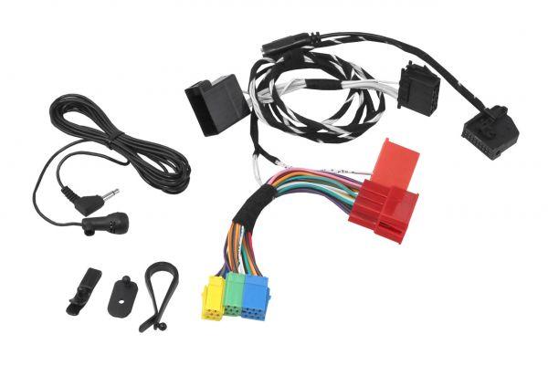 """36427 - Kabelsatz Ersatzteil für die FISCON Freisprecheinrichtung """"Basic"""" Mini ISO für Audi, Seat"""