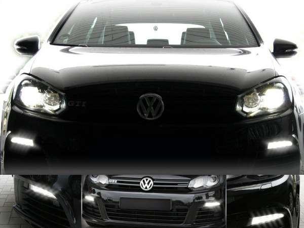 37854 - Adapter LED-Tagfahrleuchten für VW Golf 6 Xenon