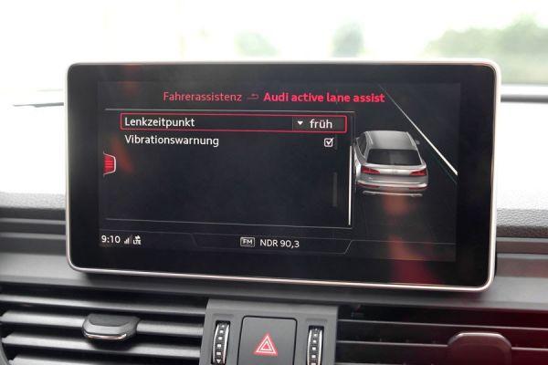 40160 - Active Lane Assist (Spurhalteassistent) inkl. Stauassistent für Audi A4 8W