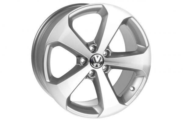 1K8071498QQ9 - Original VW Scirocco Alufelge Titanium 18 Zoll