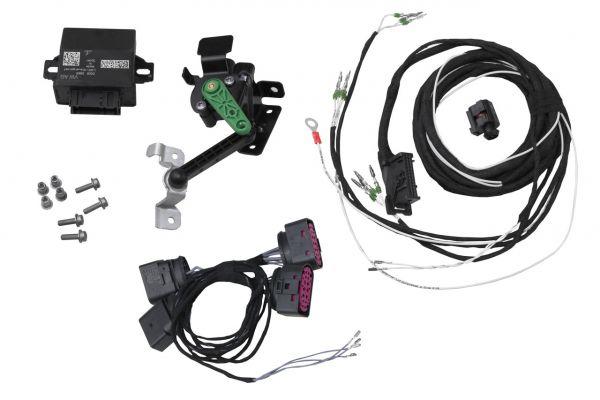 42280 - Automatische Leuchtweitenregulierung (aLWR) Komplett-Set für Skoda Octavia 5E Bi-Xenon Kurvenlicht, 0N1 - ohne elektr. Dämpferregelung