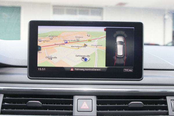41290 - Komplett-Set APS+ plus (optische Anzeige) Front & Heck für Audi A4 8W