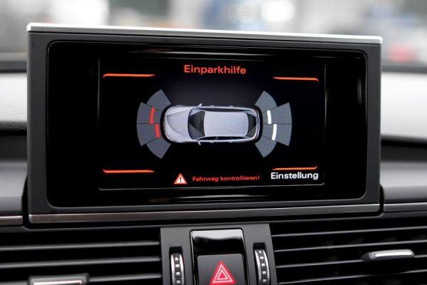 Komplett-Set APS+ plus (optische Anzeige MMI) Front und Heck für Audi A6 4G Bis Modelljahr 2014