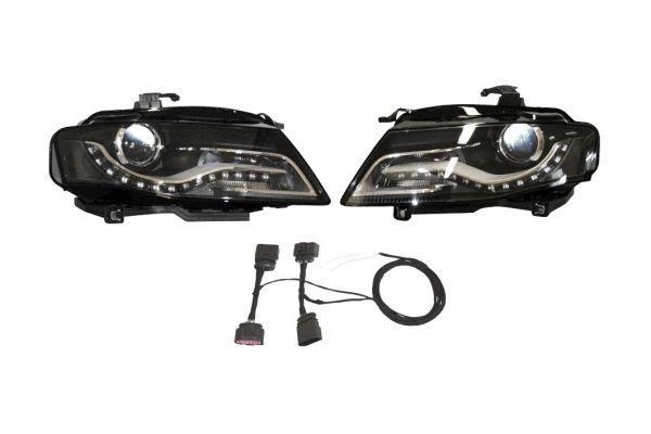 36681 - Bi-Xenonscheinwerfer-Set mit LED-Tagfahrlicht für Audi A4 8K Rechtsverkehr