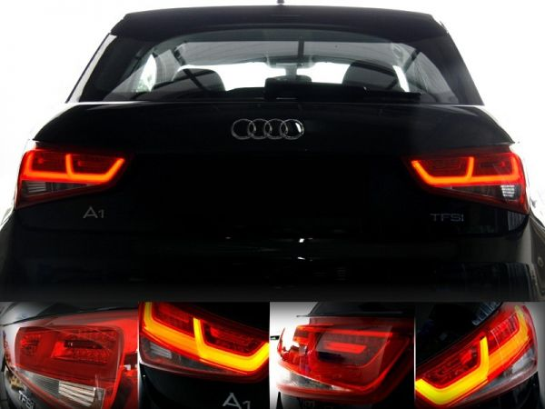 37955 - Komplett-Set LED-Heckleuchten für Audi A1 8X