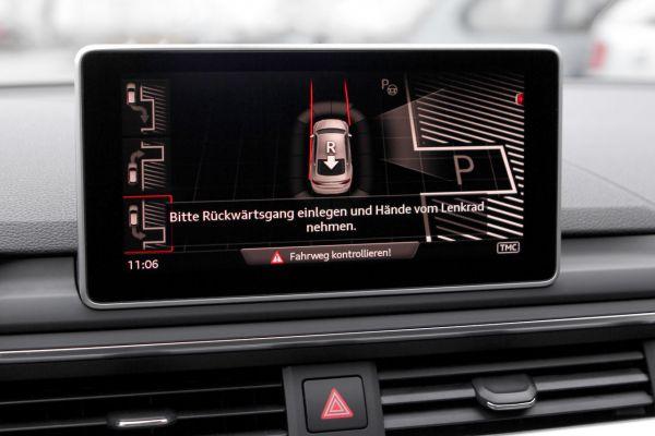 43220 - Komplett-Set Parklenkassistent für Audi A4 8W Einparkhilfe hinten & vorne vorhanden