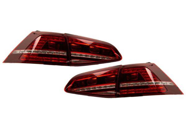 Komplettset LED Heckleuchten für VW Golf 7 - Standard / abgedunkelt R-Golf Standard