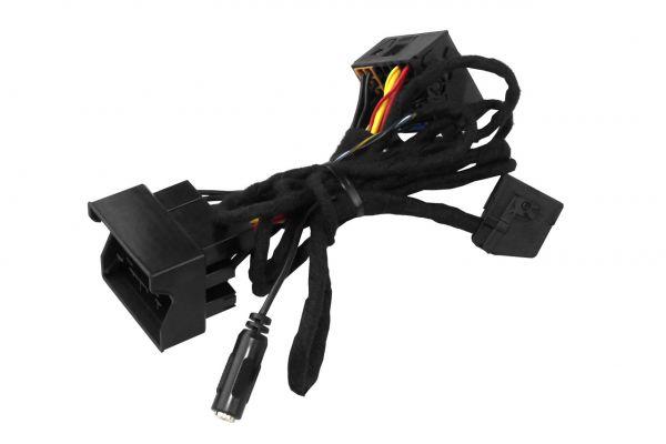 38968 - Kabelsatz Ersatzteil für die FISCON Freisprecheinrichtung Quadlock Audi, VW, Skoda