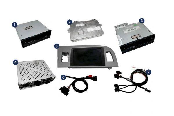 34060-1 - Nachrüst-Set MMI Basic (Plus) MMI High - Linksverkehr