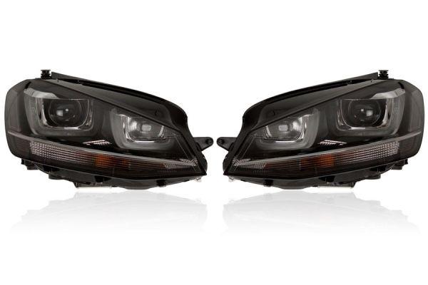 39902 - Bi-Xenon Scheinwerfer mit LED TFL für VW Golf 7