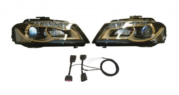 40111 - Bi-Xenonscheinwerfer Set mit LED-Technik für Audi A3 8P - Rechtsverkehr