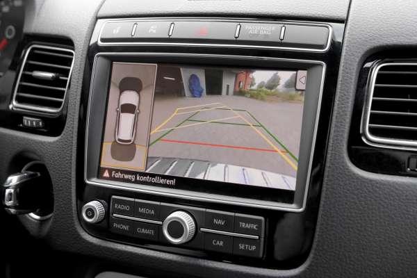 37803 - Komplett-Set Rückfahrkamera für VW Touareg 7P Bis Modelljahr 2014