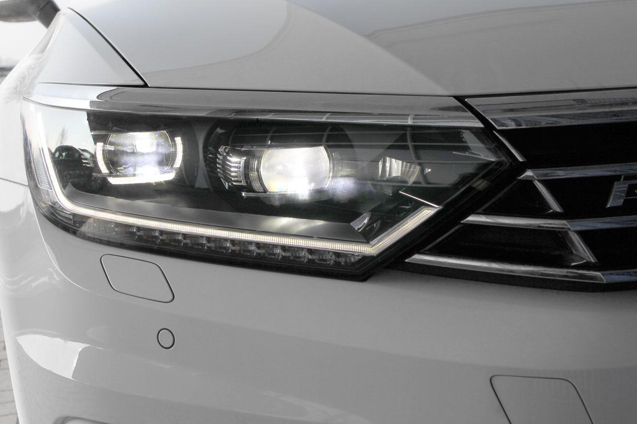 led headlights daytime running light drl vw passat b8. Black Bedroom Furniture Sets. Home Design Ideas