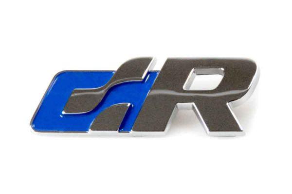 38532 - Volkswagen Schriftzug - R-line (blau)