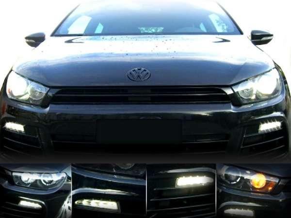 37899 - Adapter LED-Tagfahrleuchten für VW Scirocco 1K