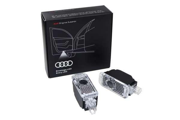 34650 - 1 Satz LED-Einstiegsleuchten Audi Logo