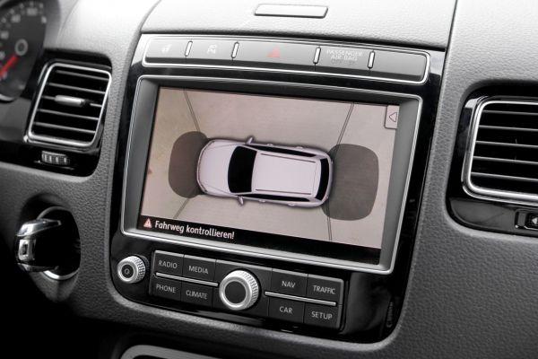 37985 - Area View - 4 Kamera System für VW Touareg 7P OHNE Parkdistanzkontrolle