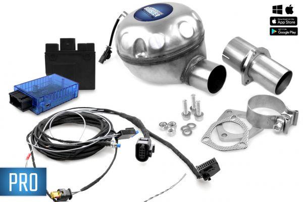 41160 - Universelles Komplettset Active Sound inkl. Booster - Innenmontage VW, Skoda, Seat PRO